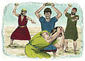 Book of Deuteronomy Chapter 14-1 (Bible Illustrations by Sweet Media).jpg