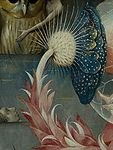 Bosch, Hieronymus - The Garden of Earthly Delights, central panel - Detail Large flower lower left.jpg