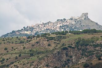 Bova, Calabria - Image: Bova View from Palizzi Photo by Filippo Parisi