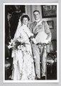 Bröllopsfotografi. Carola och Axel Wachtmeister - Hallwylska museet - 87353.tif