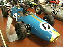 Photo de la Brabham BT3 de Jack Brabham