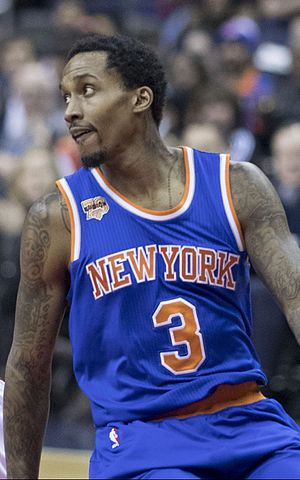 Brandon Jennings - Jennings with the Knicks