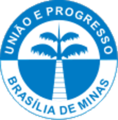 Brasilia de minas - coat of arms.png