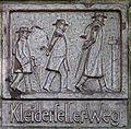 Braunschweig Brunswick Klosterkirche Tafel Kleidersellerweg (2006).JPG