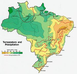 Carte Bresil Climat.Climat Du Bresil Wikipedia
