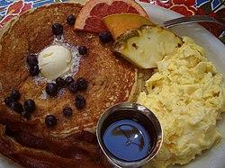 Amerikanische kuche essen und trinken