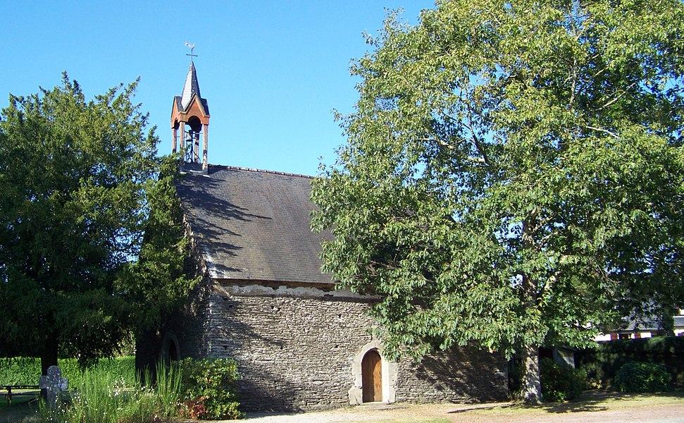 Saint Roch Chapel at La Couardière, Ploermael / Ploermaèu, Morbihan, Brittany