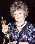 Photo of Brenda Fricker in 1990.