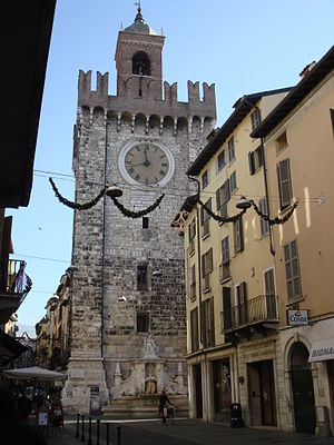 Brescia - The Pallata Tower.