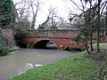 Bridge over the River Swarbourn, Yoxall - geograph.org.uk - 1274495.jpg