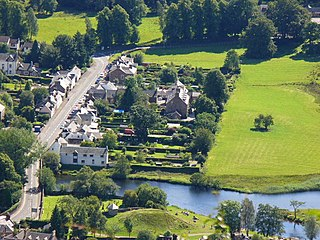 Callander town in Stirling, Scotland, United Kingdom