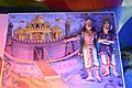 Brightly painted statues and paintings of Indian poets and characters from Hindu mythology - Batu Caves (18353254164).jpg