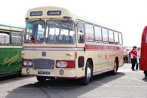 Bristol Greyhound bus 2148 (FHW 154D), 2010 North Weald bus rally.jpg
