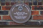 Britannia plaque