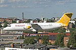 British Aerospace Avro RJ100, Malmoe Aviation JP6000751.jpg
