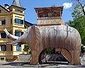 Brixen, hölzerner Elefant, 1.jpeg