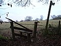Broken Stile - geograph.org.uk - 92826.jpg