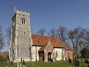 Bromeswell - Image: Bromeswell Church of St Edmund