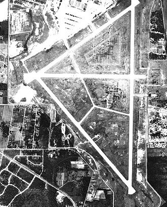 Brookley Air Force Base - Image: Brookleyfield al 7apr 1952