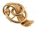 Brosch av guld - Hallwylska museet - 110042.tif