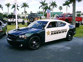 Broward County Sheriff's Office - Police vehicle