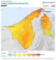 Brunei GHI Solar-resource-map GlobalSolarAtlas World-Bank-Esmap-Solargis.png