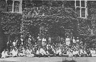 Bryn Mawr Summer School for Women Workers in Industry - Students and faculty of the Bryn Mawr Summer School for Women Workers in Industry, 1921