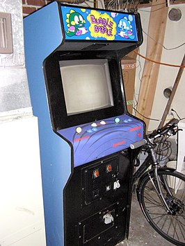 Bubble Bobble arcade machine