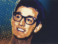 Buddy Holly Briefmarke Deutsche Bundespost 1988 postfrisch Schuschke cropped.png
