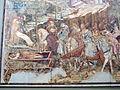 Buffalmacco, trionfo della morte, incontro dei tre vivi coi tre morti 02.JPG