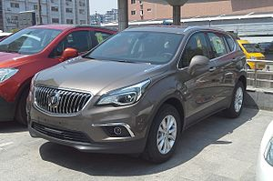 Buick Envision - Image: Buick Envision 4 China 2015 04 21