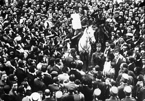 Miguel Primo de Rivera - Announcement of Primo de Rivera's government, 1923 in Madrid