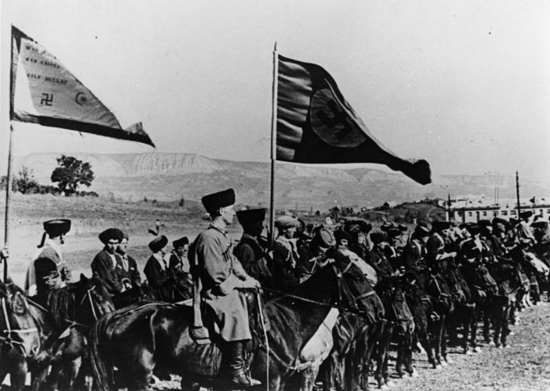 Bundesarchiv Bild 146-1975-099-15A, Russland, Kosaken in der Wehrmacht