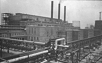 Economy of Nazi Germany - Monowitz concentration camp Buna-Werke (Auschwitz III)
