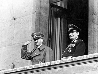 The Blitz - Hitler and Göring, March 1938
