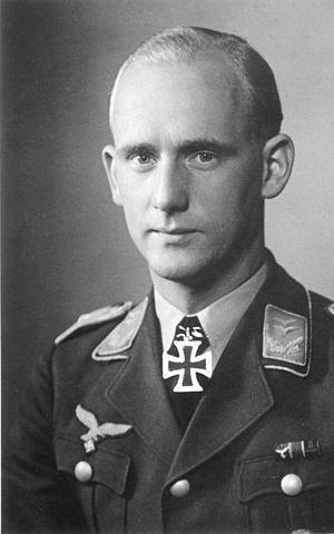 Battle of Dombås - Oberleutnant Herbert Schmidt after receiving his Knight's Cross of the Iron Cross in May 1940