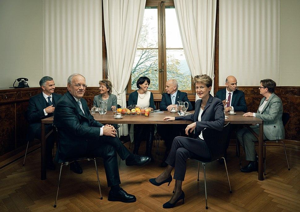 Bundesrat der Schweiz 2015