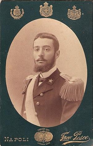 Ernesto Burzagli - Burzagli as a young officer