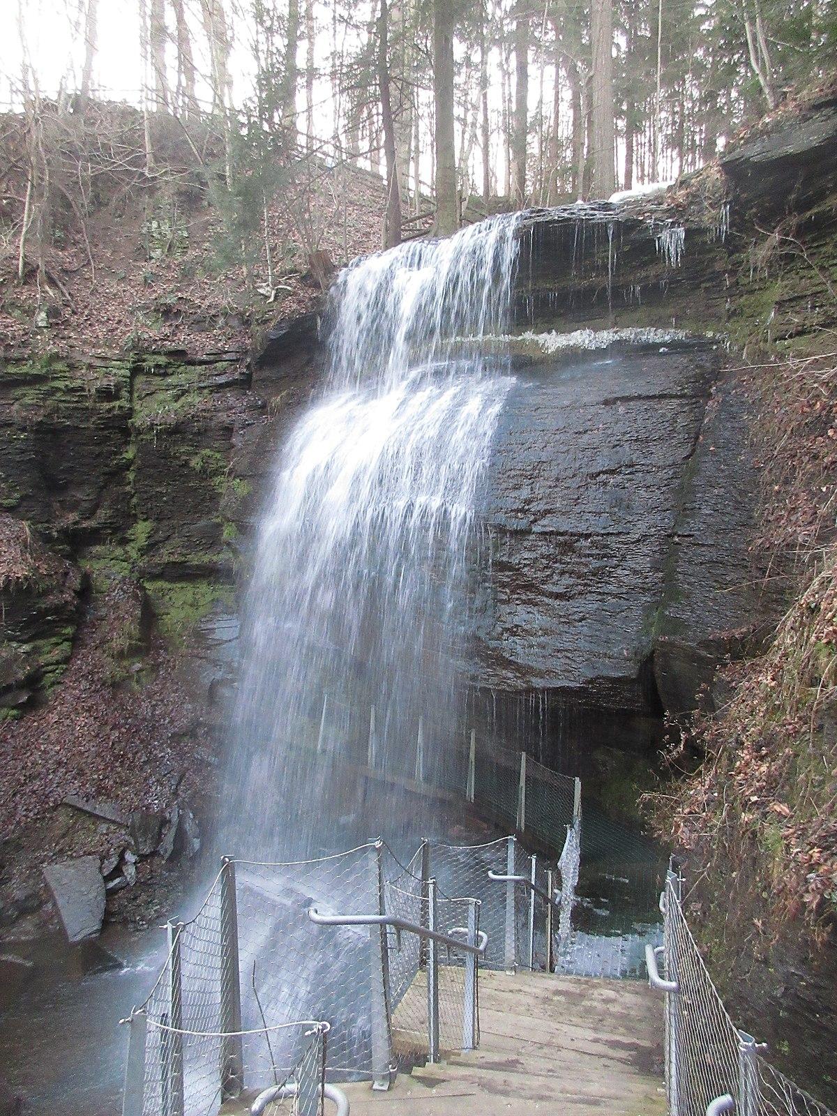 Buttermilk Falls Natural Area Wikipedia