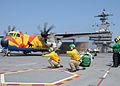 C-2A 50 years VRC-40 on CVN-77 2010.jpg
