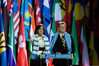 Butch Otter - Butch and Lori Otter opening the 2009 Special Olympics World Winter Games