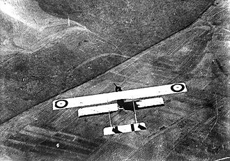 French Air Force - French aircraft flying over German held territory, 1915