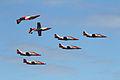 CASA C-101 Aviojet de la Patrulla Águila del Ejército del Aire de España (14542217129).jpg