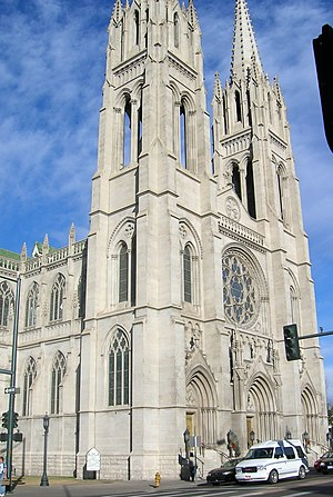 National Register of Historic Places listings in Denver - Cathedral of the Immaculate Conception, Downtown