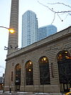 One corner of the Chicago & North Western Railway Powerhouse