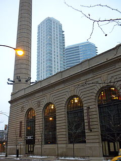 Chicago and North Western Railway Power House historic power house