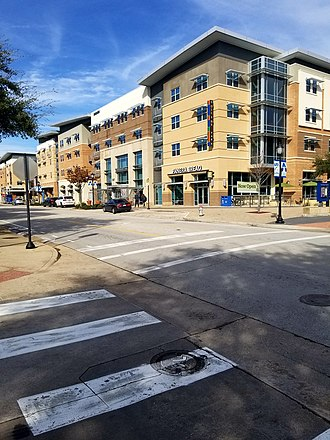 University of Texas at Arlington - College Park Center District