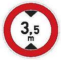 CZ-B16 Zákaz vjezdu vozidel jejichž výška přesahuje vyznačenou mez.jpg