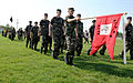 Cadets from the Civil Air Patrol, Rocky Mountain region, practice drill.jpg