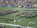Cal Band performing at halftime at ASU at Cal 10-4-08 4.JPG
